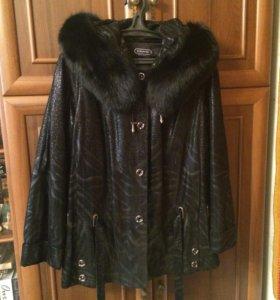 Куртка замшевая с подстежкой