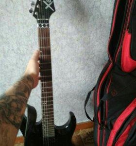Продам электро гитару и комбарь