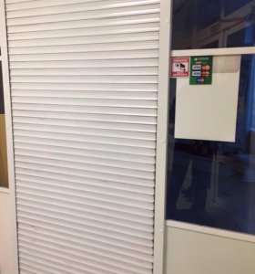 Рольставни дверные