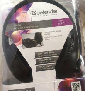 Компьютерная гарнитура Defender Bravo HN-015