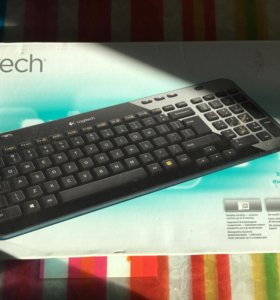 Logitech Wireless Keyboard K360 Black