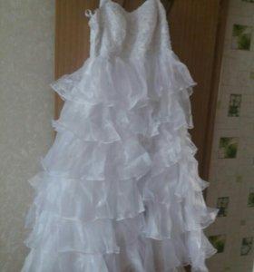 Свадебное платье в комплекте
