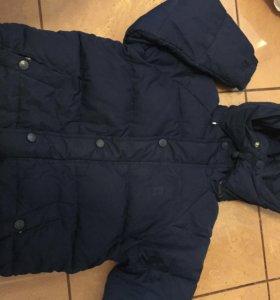 куртка пуховик prenatal