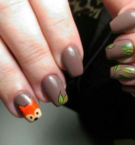 Наращивание ногтей!
