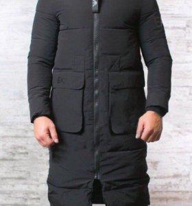 🔴 Зимняя куртка ( Пальто ) Armani ( EA7 )