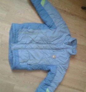 Зимние куртки на мальчика 7-10лет