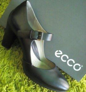 Новые кожаные туфли ECCO Sculptured 75 Mary Jane