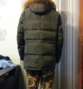 Пуховик мужской зимний