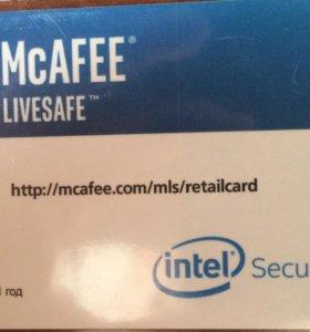 Лицензия на Антивирус McAFEE (1 год)