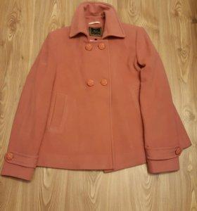 Пальто шерсть с кашемиром р. 36