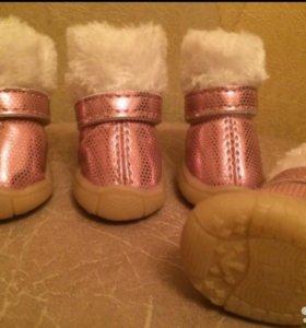 Угги зимние меховые ботинки
