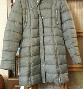 Пальто-пуховик.до -15