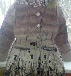 Зимняя куртка на девочку CHERCHE