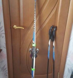 Лыжы с комплектом