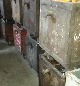 Ящик складской металлический (промтара)