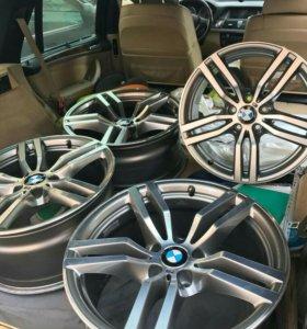 Оригинальные М диски на BMW X5 X6