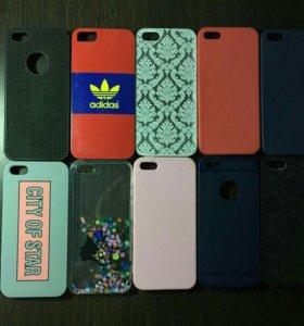 Чехлы на iPhone 5 и 5$