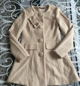 Пальто шерсть(одето раз)