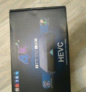 Smart ТВ приставка 4К для любого телевизора