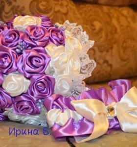 Свадебные аксессуары. Букет невесты (дублер)