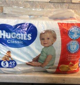 Huggies 5 памперсы