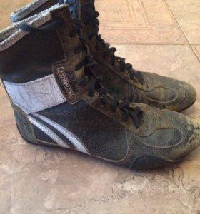 Ботинки kowalski 39 р-р кожаные