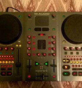 миди контролер m-audio m-track xponet