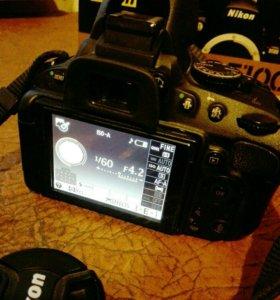 Зеркальный фотоаппарат Nikon D5100 18-55 VR Kit