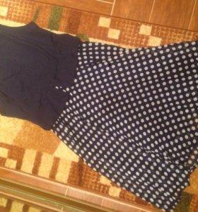 Платье деловое