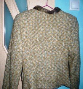 пиджак драповый