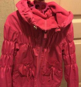 Плащ и куртка для девочки.Обе вещи за 800р