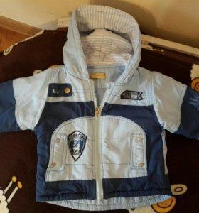 Детский костюм(куртка+комбез) и шапочки