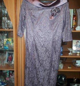 Новое красивое, платье р 44-46