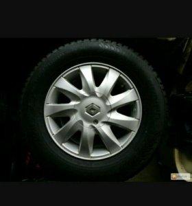 Комплект колёс рено логан r14 185на70