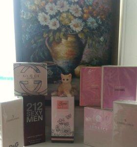 Оригинальная французская и итальянская парфюмерия.