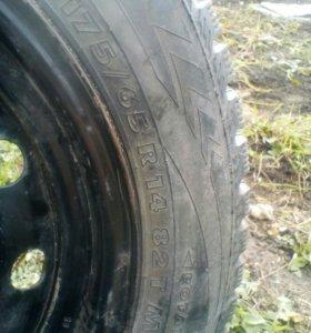 Зимние колеса в сборе R14 175*65