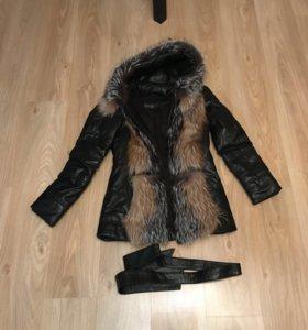 Куртка/ жилет с мехом