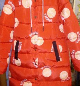 Куртка евро-зима НОВАЯ, 46 р-р