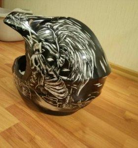 Шлем мото-крос