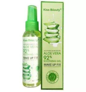 Фиксатор макияжа Kiss Beauty Aloe Vera 92%
