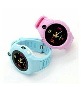 Детские умные часы телефон Q610 GPS сенсорные