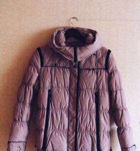 Зимняя куртка пуховик новая тёплая