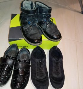 Обувь на мальчика 34-35 размер