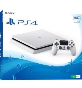 Sony PS4 + наушники Sony