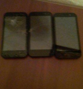 Три телефона за 1000 рублей texet tm4577