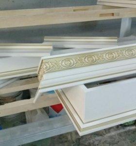 Покраска деревянных изделий.