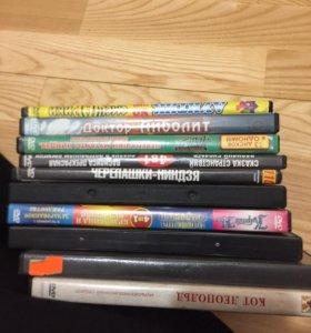 Коробки для CD, DVD.