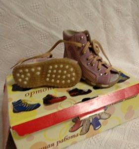 Ортопедическая ботинки. Новые