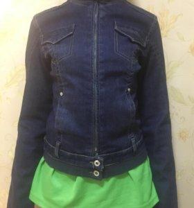 Куртка джинсовая р.44
