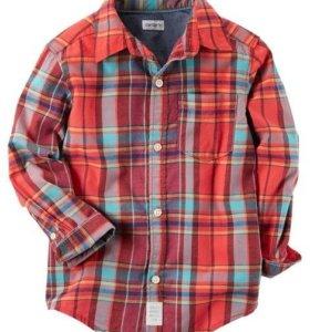 НОВАЯ рубашка Carters (Картерс)